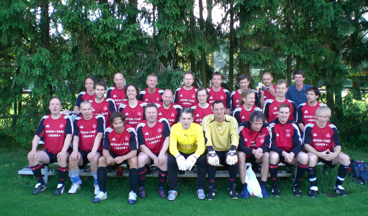 Germany has a soccer team made up entirely of writers