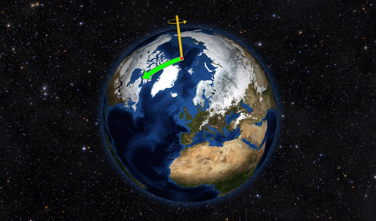 NASA study: Melting ice is causing the Earth's axis to shift direction