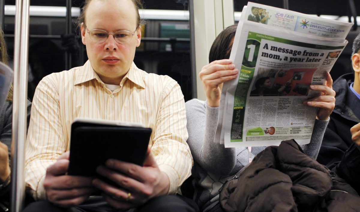 Your Paper Brain And Your Kindle Brain Aren't The Same Thing  Public Radio  International
