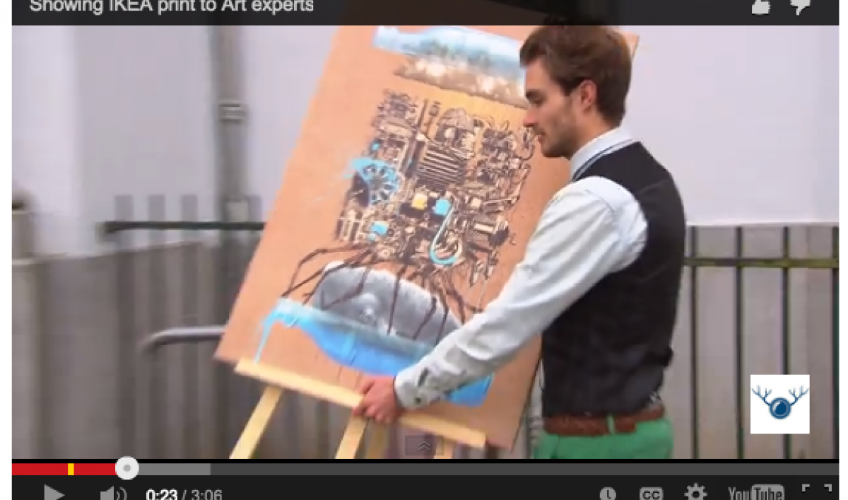 Nieuw A prank involving Ikea art shows the art world is just like you SH-36