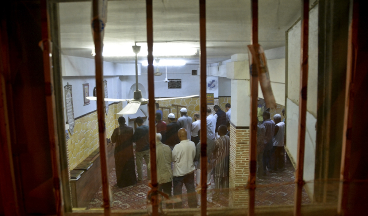 Athens doesn't have a single mosque, so Muslims worship in makeshift prayer rooms