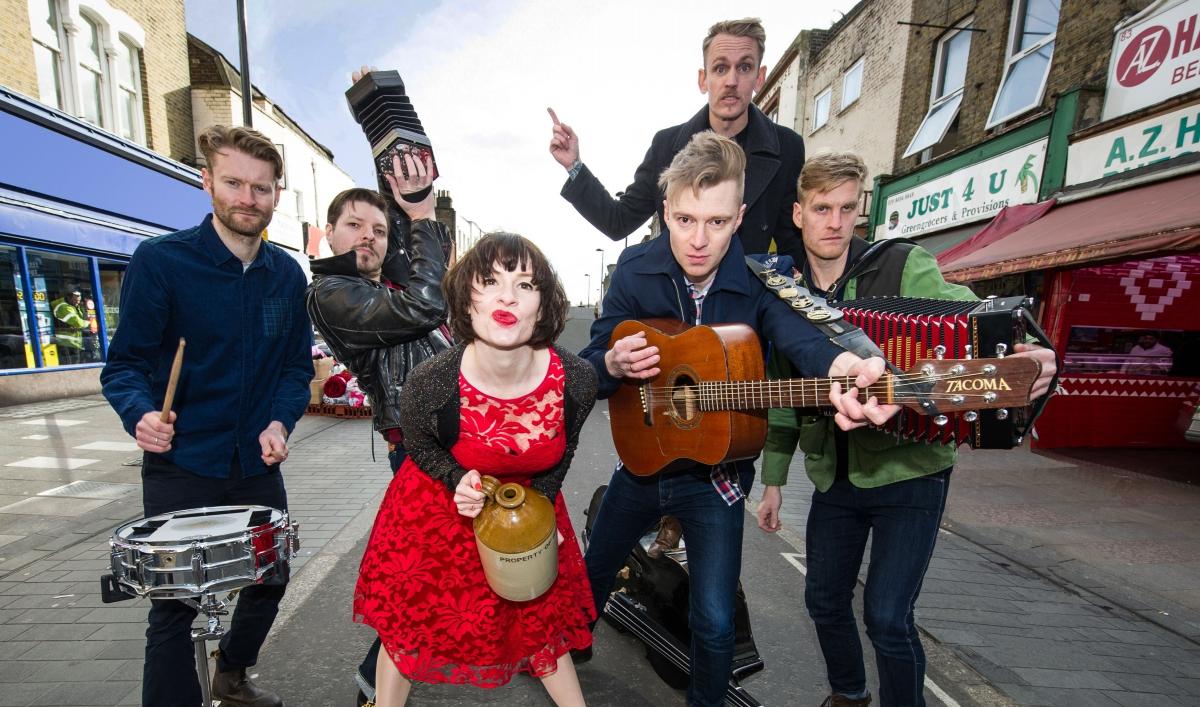 Irish punk bands, and ...