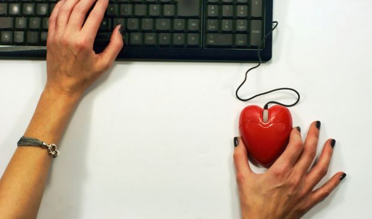 Stalking frauen in online-dating-sites