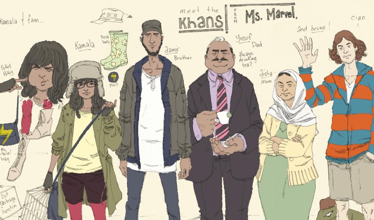Marvel Comics introduces Ms. Marvel: a female, Muslim, Pakistani superhero