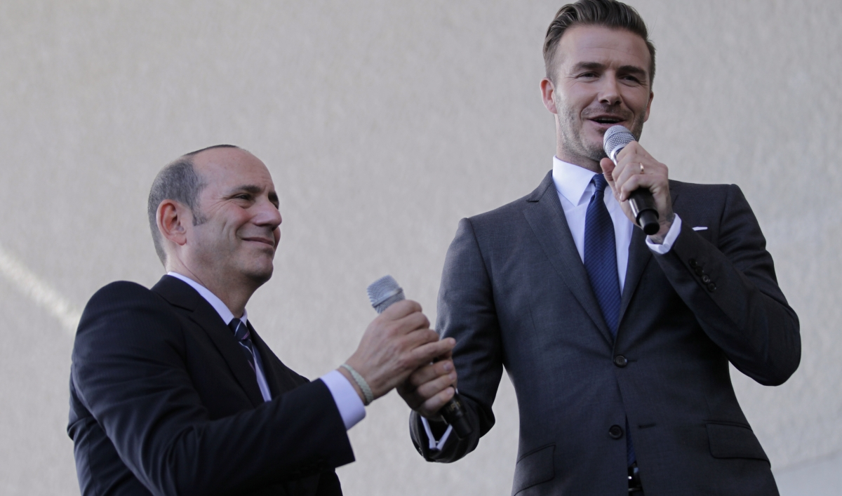 David Beckham Announces Plans To Build A New Mls Franchise In Miami