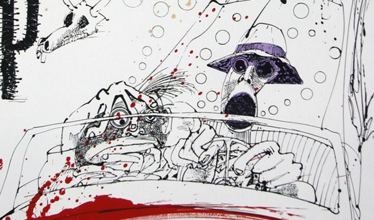A new documentary about artist and illustrator Ralph Steadman ...