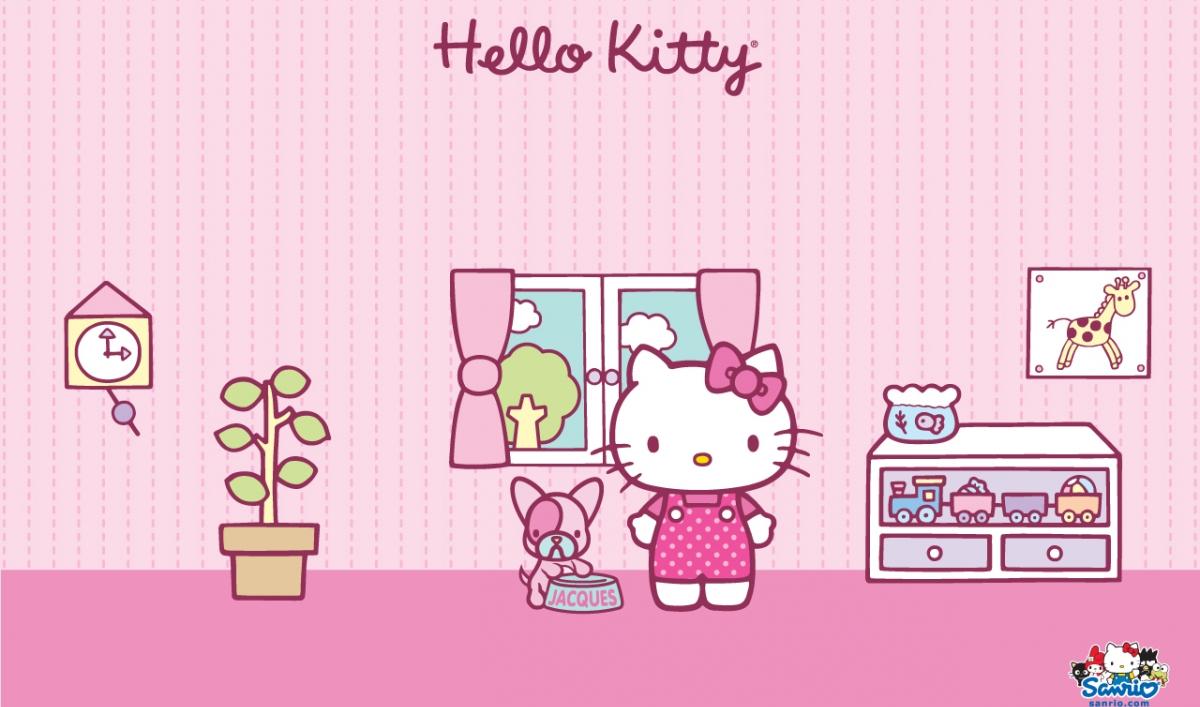 Simple Wallpaper Hello Kitty Purple - kt_wall_puppy-room  Trends_677552.jpg?itok\u003dPgS5JeAS