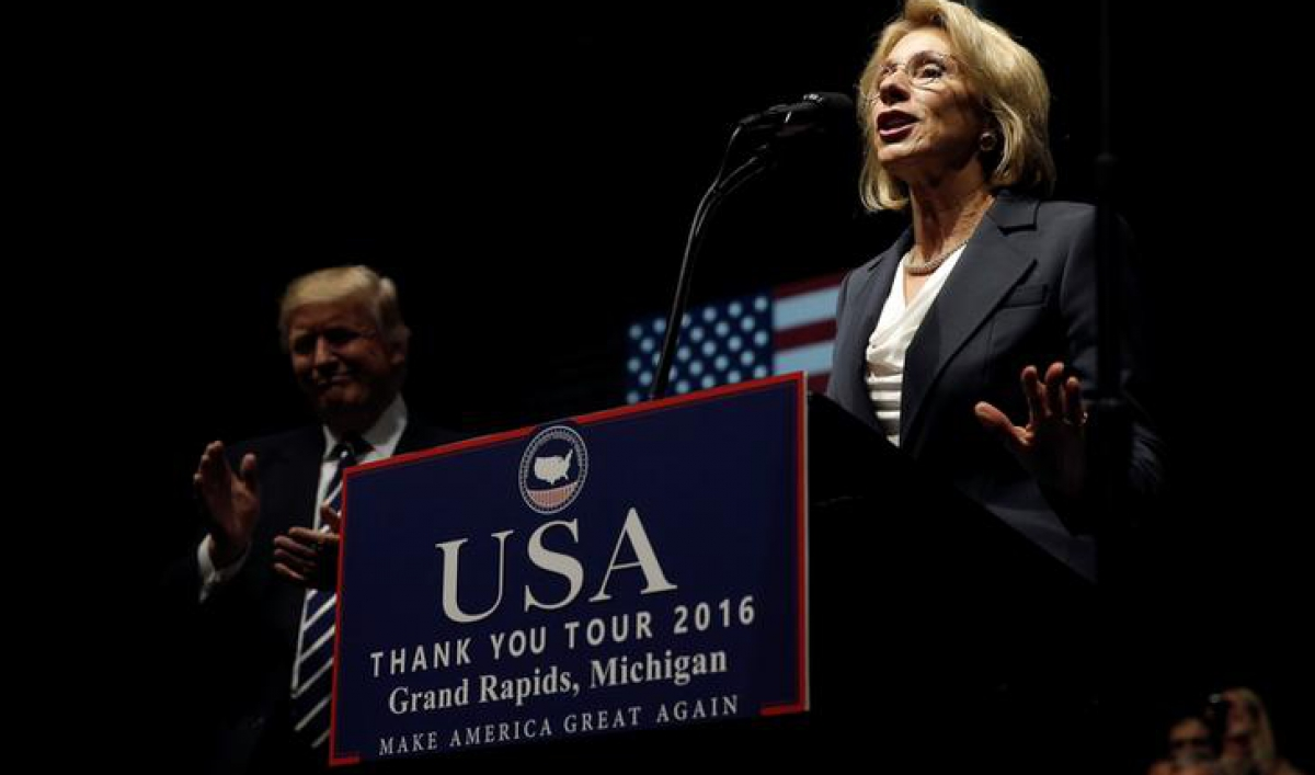 Trumps Education Pick Says Reform Can >> President Donald Trump Has Proposed Allocating 20 Billion From The