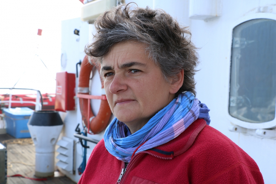 """There's a whole series of feedbacks and processes that are linked (and) that really are speeding up some of the changes,"" in this part of the world says says oceanographer Fiamma Straneo. ""We have to understand these details so we can put them in the (co"