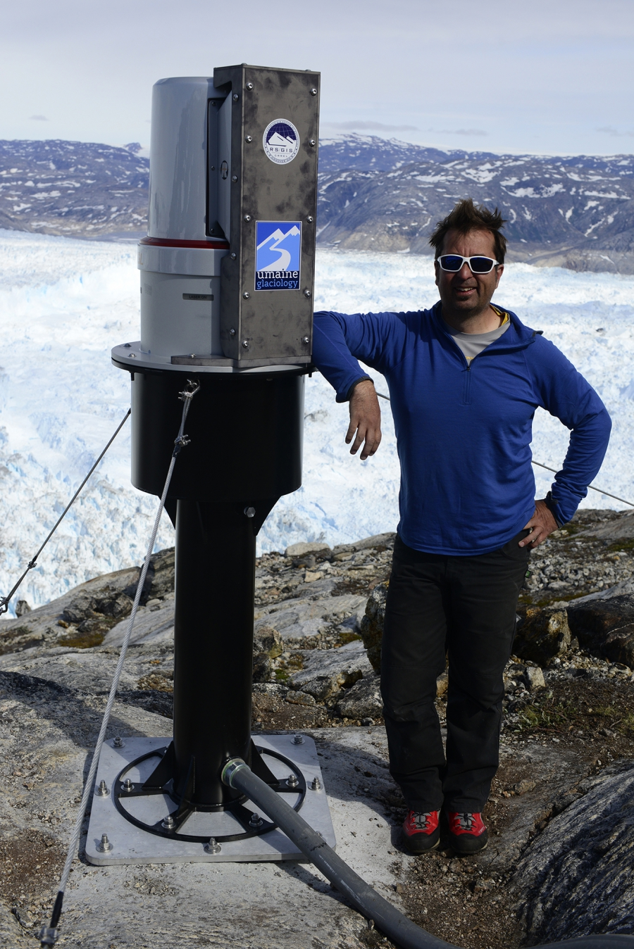 """We didn't anticipate the changes that happened (in Greenland) in the last ten or 15 years,"" says glaciologist Gordon Hamilton. ""The ice sheet has waxed and waned with time for sure, but I don't think it's been through such a large set of changes in such"