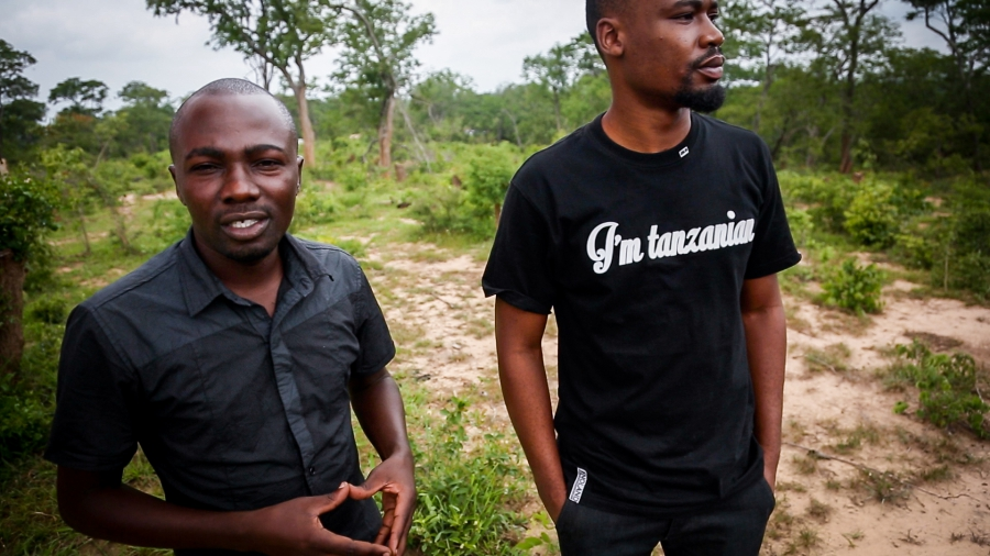 Peter Mtoro  and Othman Lugendo are project officers with the local NGO, Tanzania Forest Conservation Group, which is leading the sustainable charcoal pilot project. So far they have trained over 500 producers in eight participating villages.
