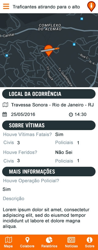 Fogo Cruzado is Amnesty International's new app for Brazilians to track shootouts.