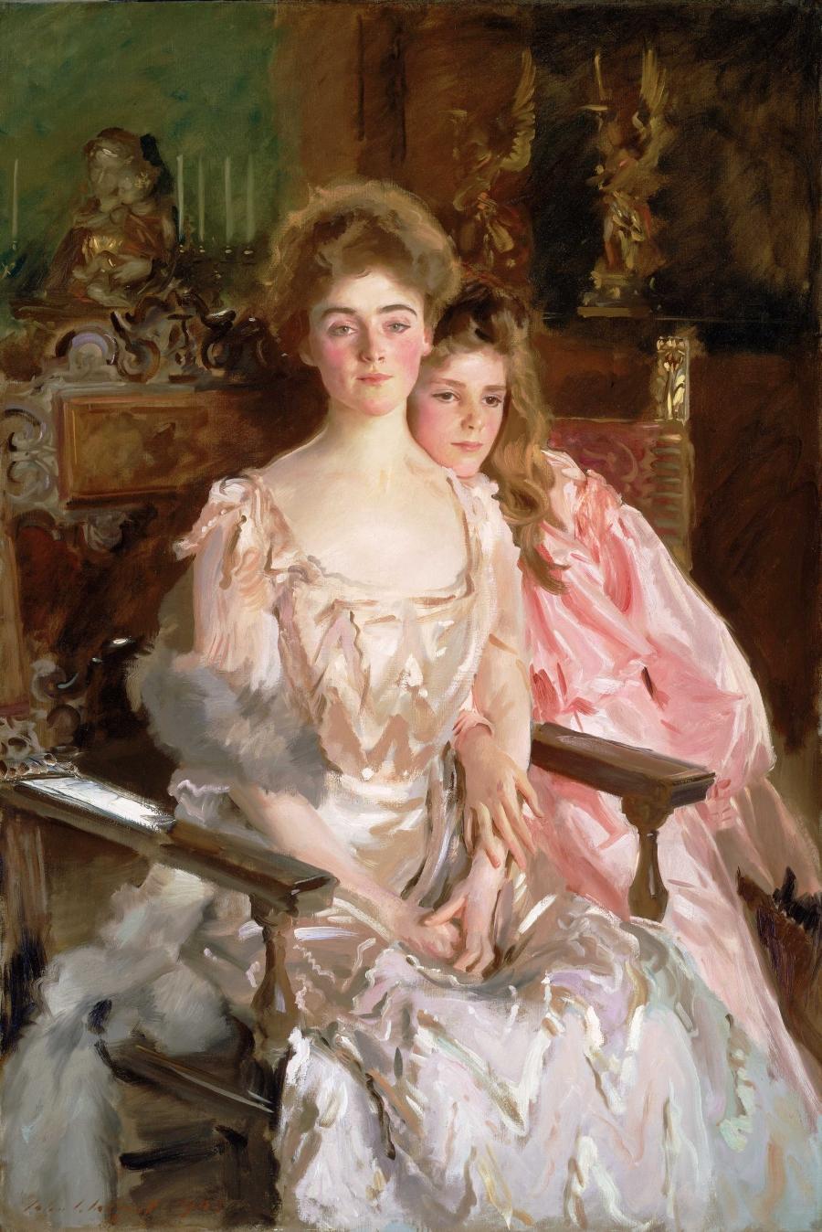 Mrs. Fiske Warren and Her Daughter Rachel, John Singer Sargent, 1903   Gallery 232