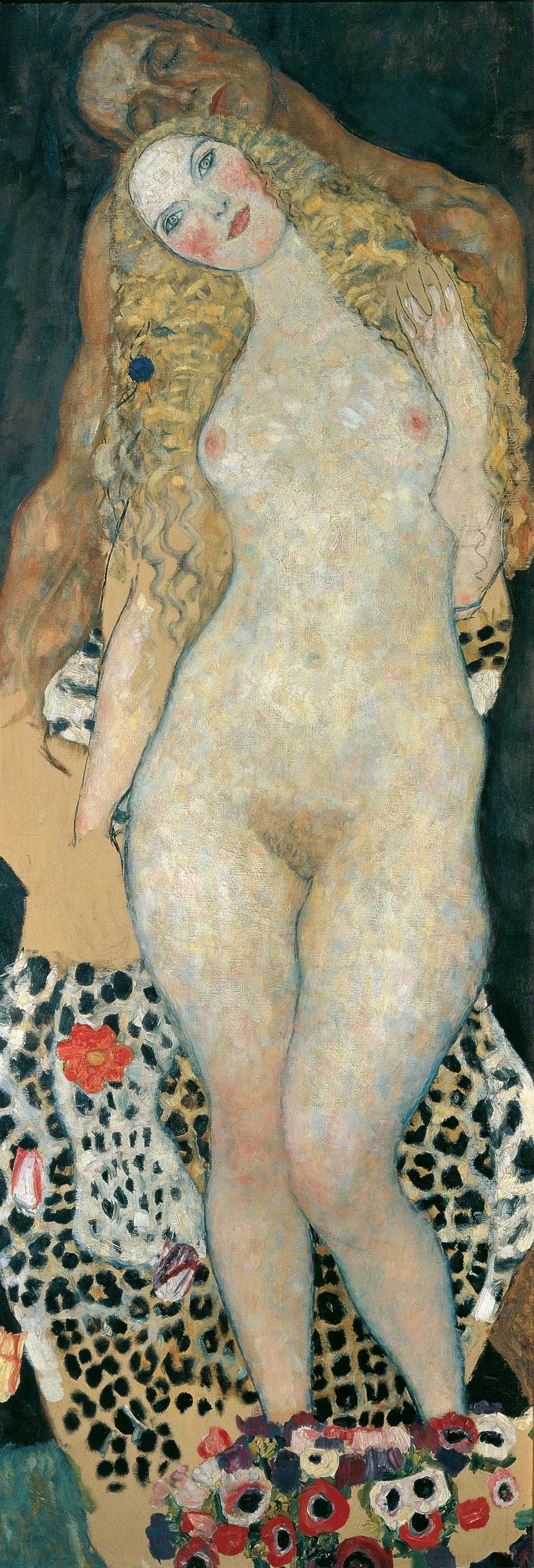 """Visiting Masterpiece: Gustav Klimt's Adam and Eve""   Gallery 155"