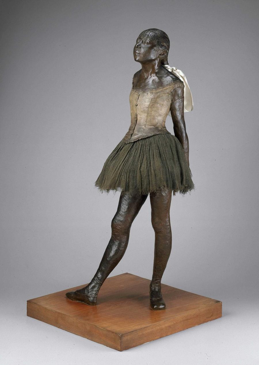 Little Fourteen-Year-Old Dancer, Edgar Degas, original model 1878–81, cast after 1921