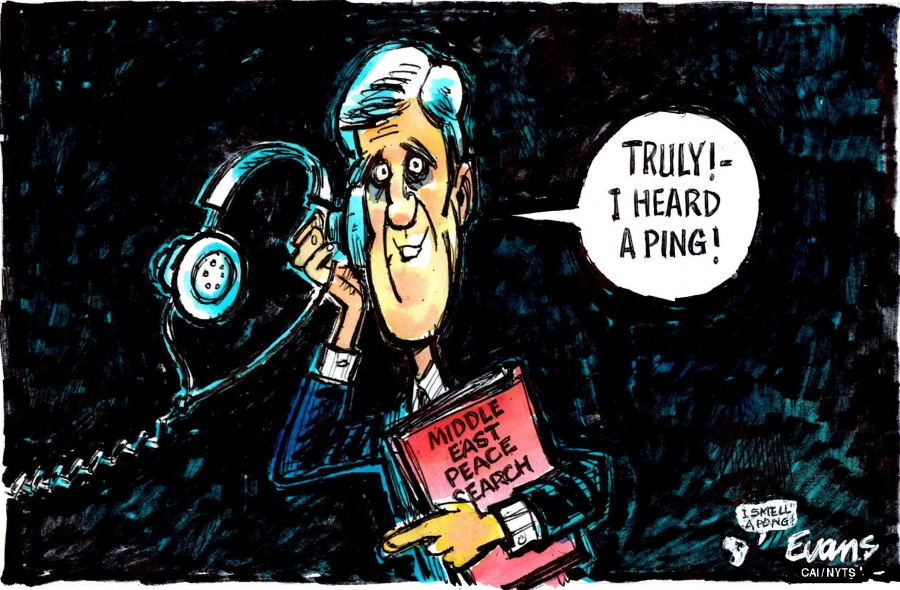 John Kerry and the triumph of hope over experience.