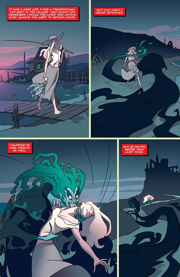 Page from Dark Fang #1