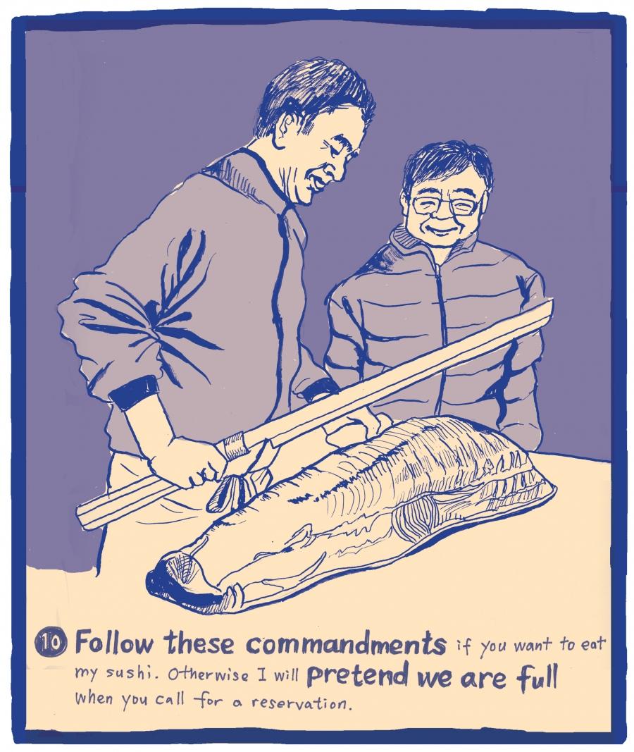 Yajima-san's 10th and final commandment