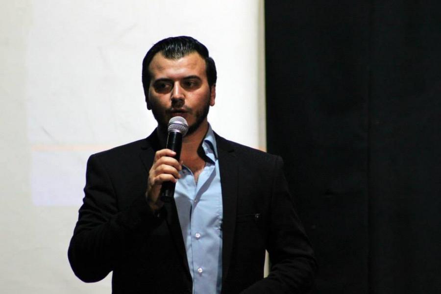 Thaer al-Tahli fled Syria after he was arrested several times.