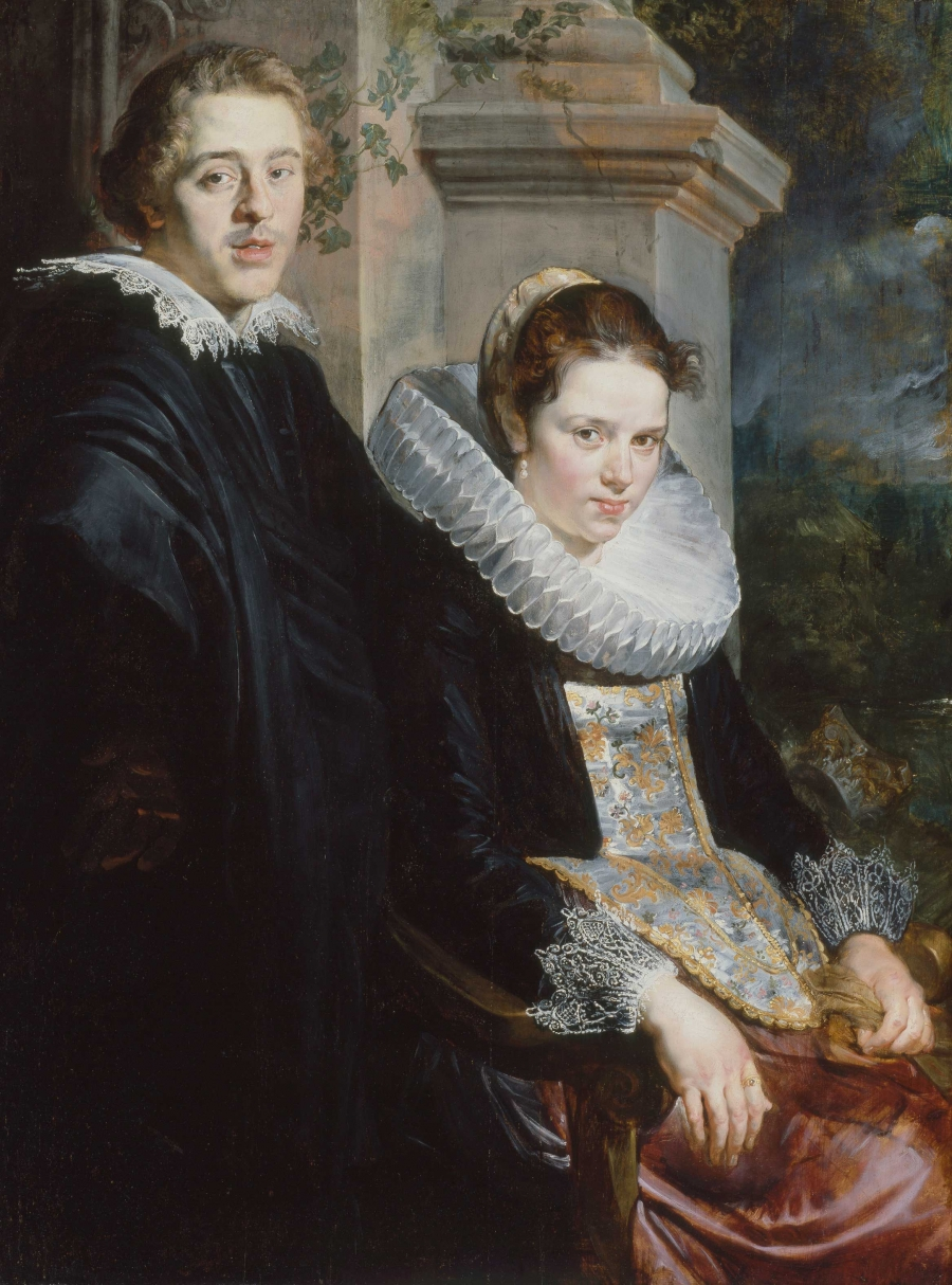 Portrait of a Young Married Couple, Jacob Jordaens, about 1621–22