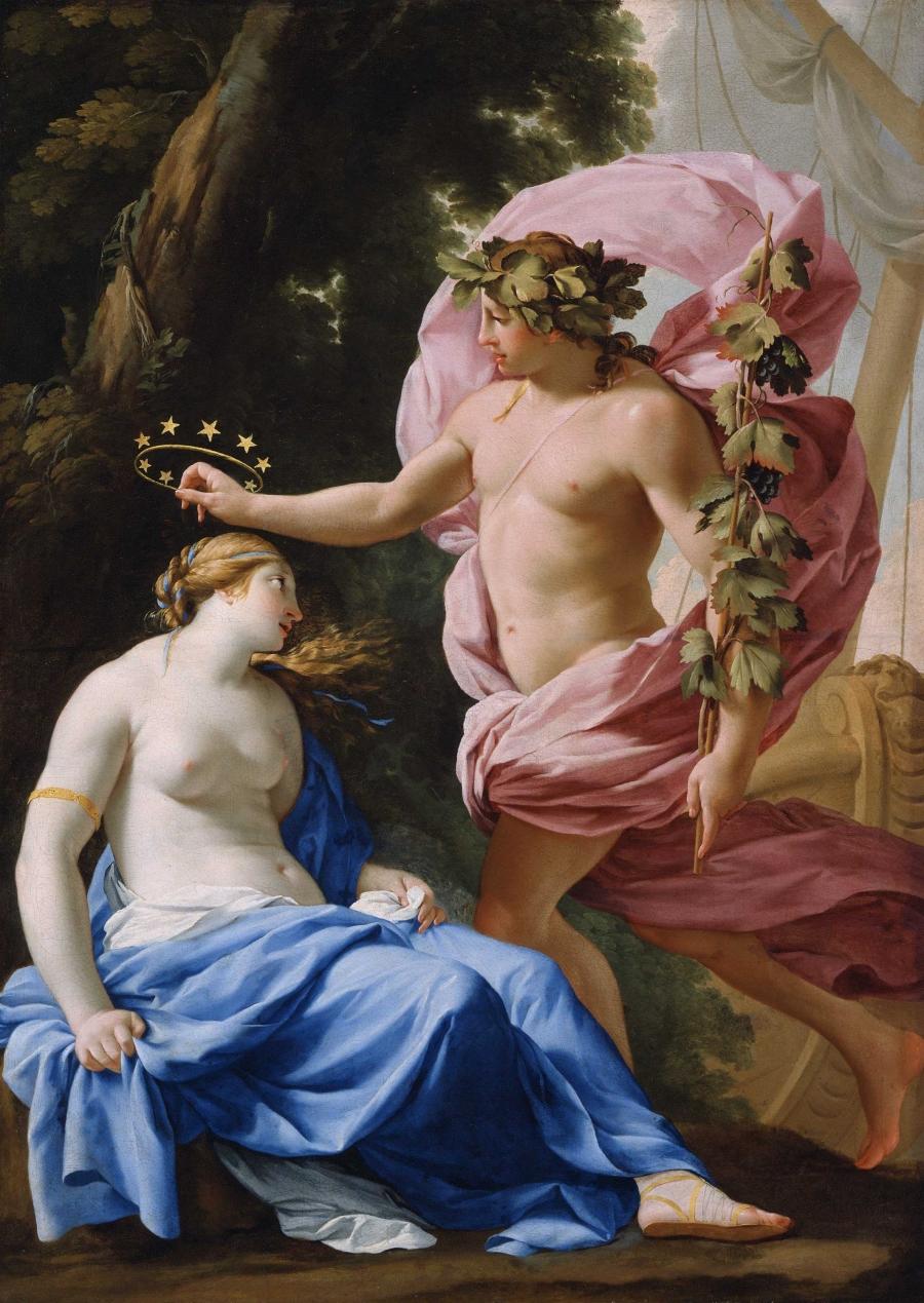 Bacchus Discovering Ariadne, Jacob Jordaens, late 1640s