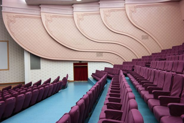 The National Drama Theater in Pyongyang