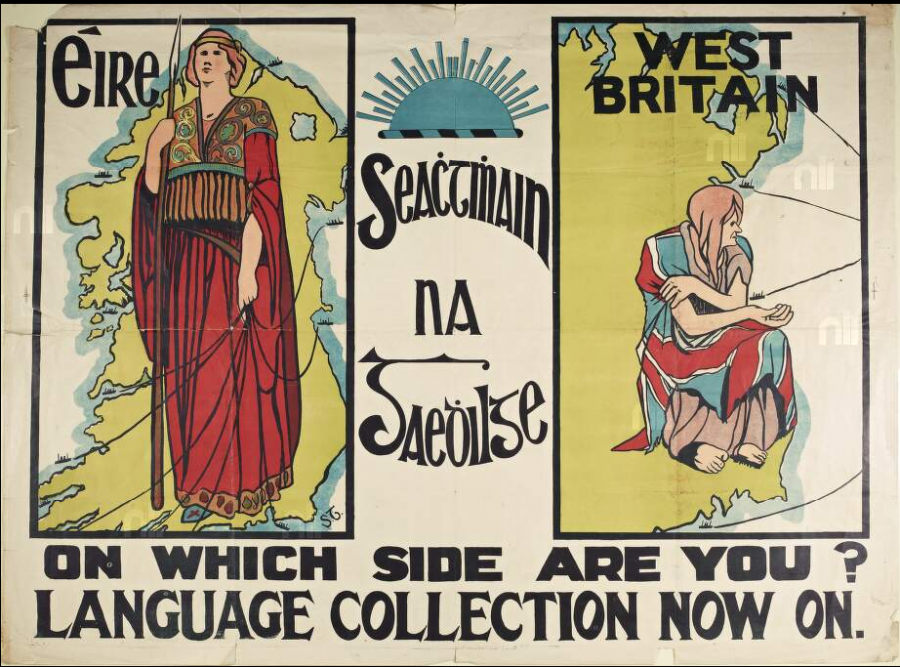 An Irish nationalist poster from 1913.