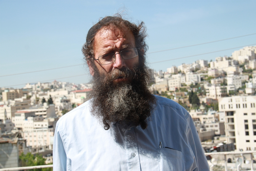 "Baruch Marzel, an ultra-nationalist Israeli, shook the hand of the Israeli soldier who shot a suspected Palestinian attacker lying on the ground in Hebron. ""If I would have known he's the guy who shot the terrorist, I would have hugged and kissed him."""