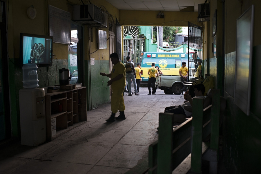 Comandos de Salvamento is an organization in El Salvador which is partly funded by the government and partly by donations from the public to operate as local ambulances.