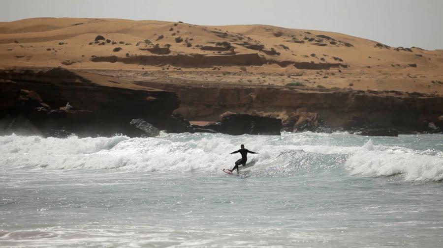 Surfing in Iran 1