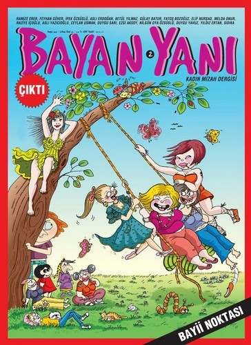 Cover image of the Turkish magazine for women
