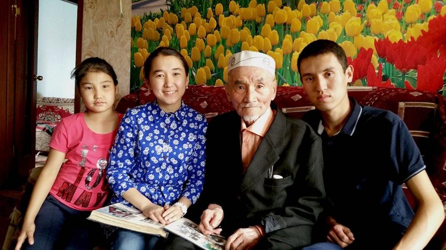 Eilugazy Nurgaliyev grandchildren
