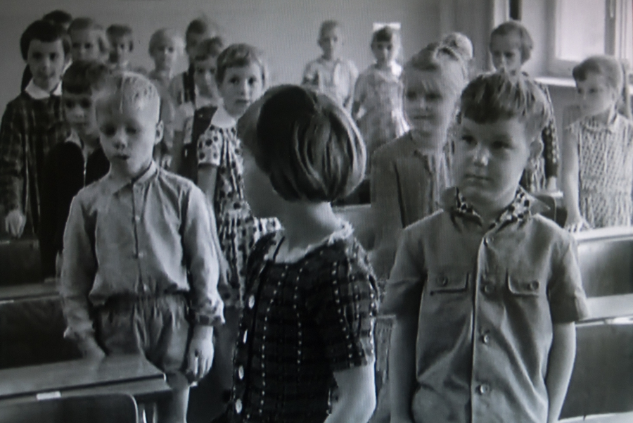 "From 1961 until 2007, the filmmaker Winfried Junge created a series of documentaries called ""The Children of Golzow"" in which 18 residents of Golzow were filmed at regular intervals from childhood and into adulthood. The school, which last year was in da"