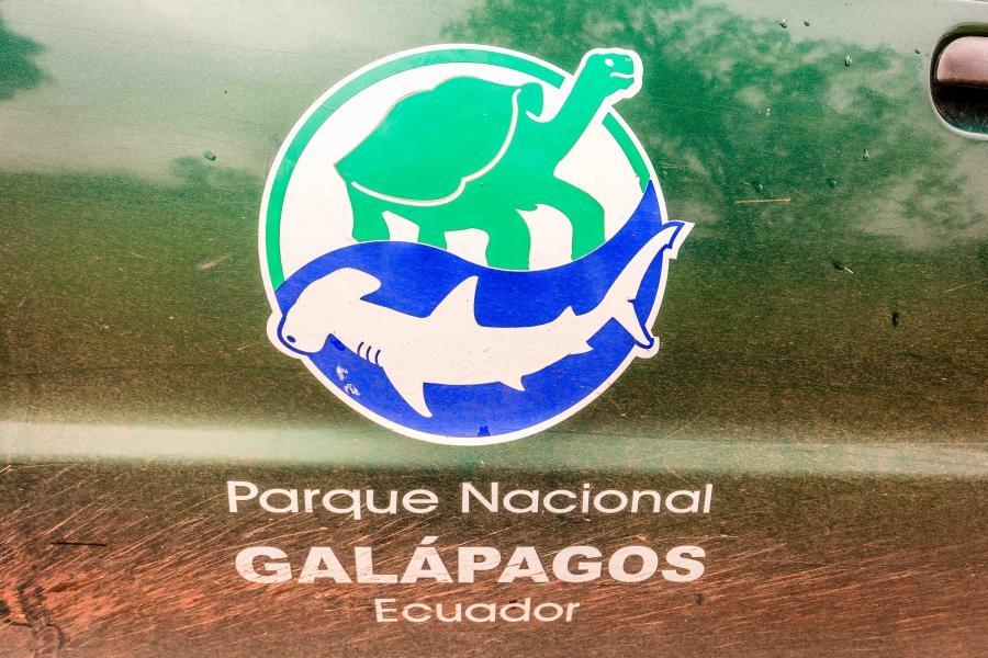 Galapagos national park decal
