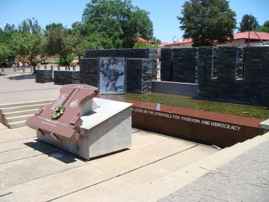 The Hector Pieterson Memorial in Vikalazi Street in Soweto is named after the 14-year-old boy who was the first killed by police in the June 16 1976 Soweto student's uprising.