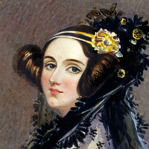 Ada King, Countess of Lovelace, 1840