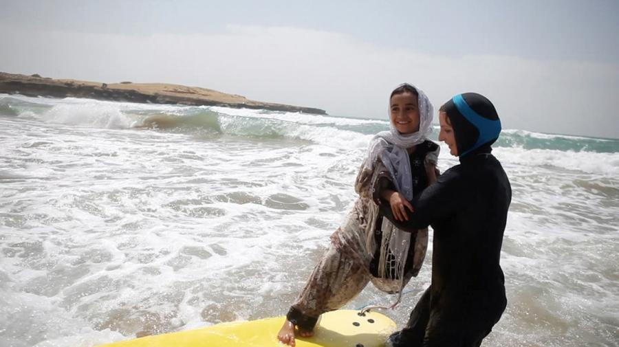 Surfing in Iran