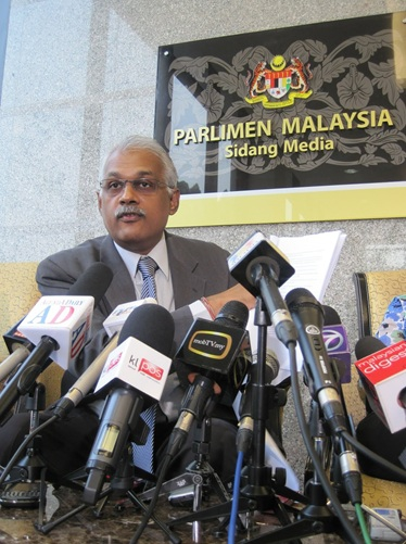 Malaysia member of parliament lawmaker charles santiago state department human trafficking report malaysia upgrade