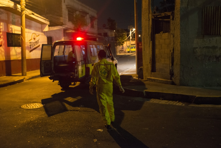 Sometimes gangs stop Commandos de Salvamento ambulances and will either question them and allow them to continue , or tell them to to leave the area immediately, making them unable to rescue the person in need.