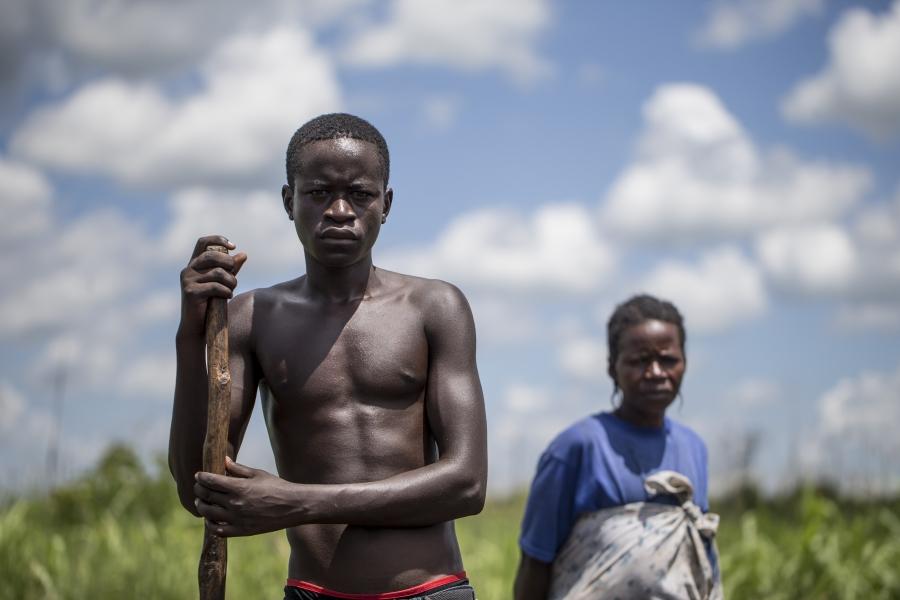 Paska Akwero and son