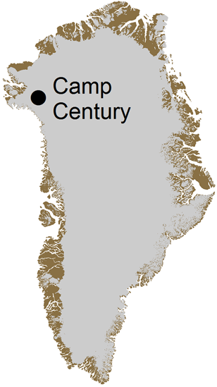 Camp Century was part of a secret plan to test the possibility of deploying nuclear missles aimed at the Soviet Union under the ice in Greenland.