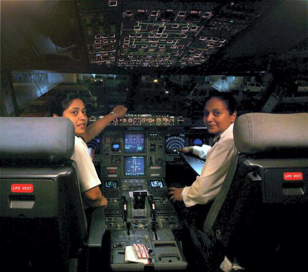To overcome the hazard of fatigue setting in, two teams of Air India co-pilots were assigned to fly the Boeing 777 long range aircraft on the 17 hour route from New Delhi to San Francisco