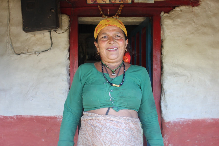 Producer Laura Spero has lived with this woman — whom she calls Aamaa —in the Nepali village of Kaskikot for much of the past 12 years.
