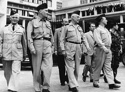 The four French Generals who tried to overthrow President Charles de Gaulle in order to keep the French departments of Algeria as part of France.