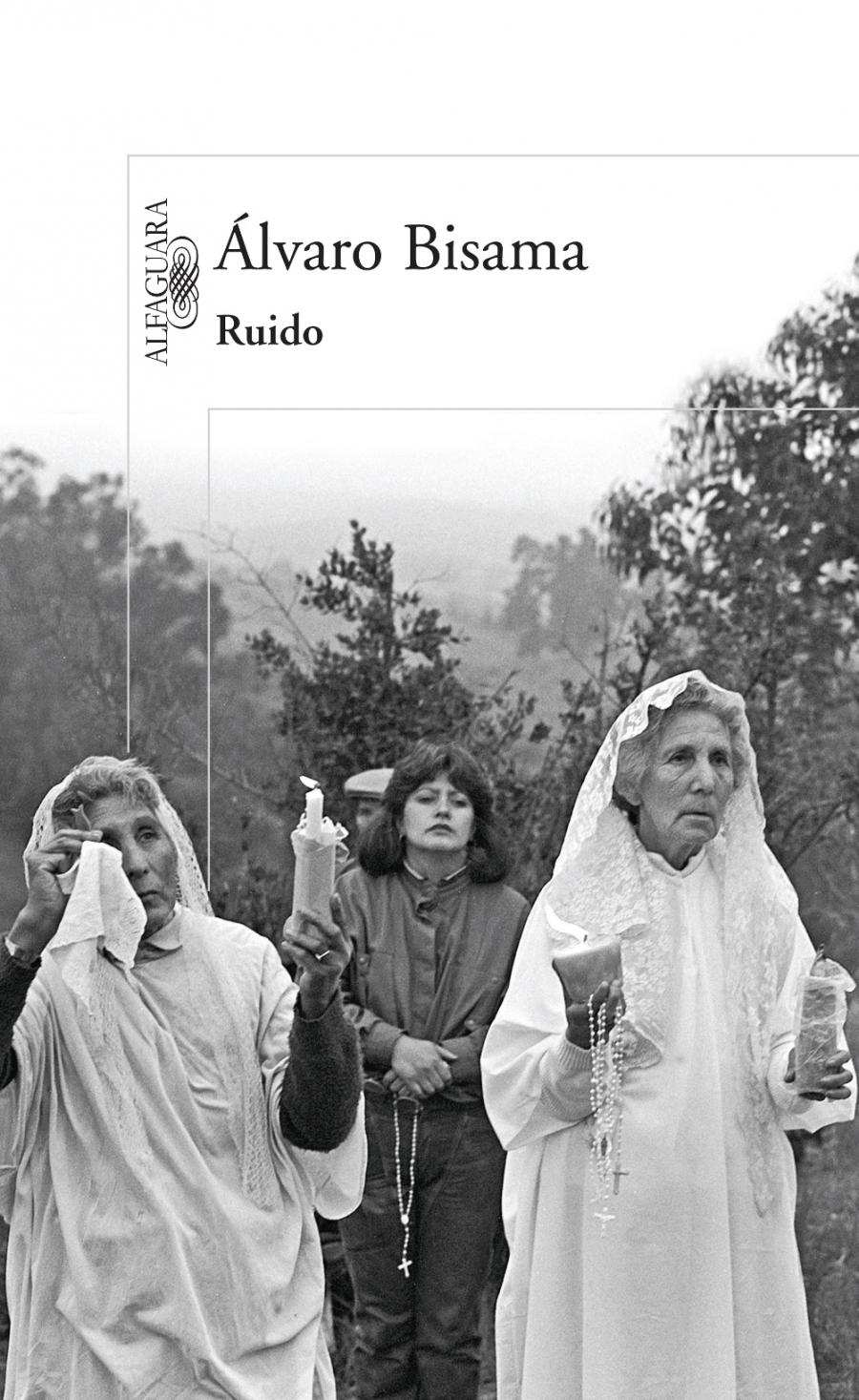 Álvaro Bisama's novel 'Ruido' or 'Noise' in English.