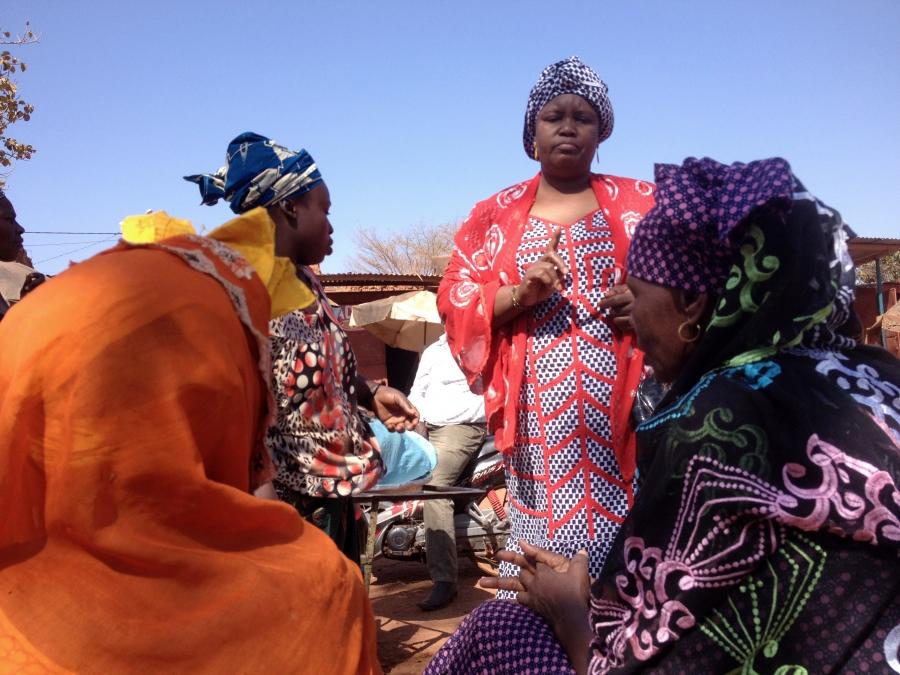 Kadidia Ouattara market