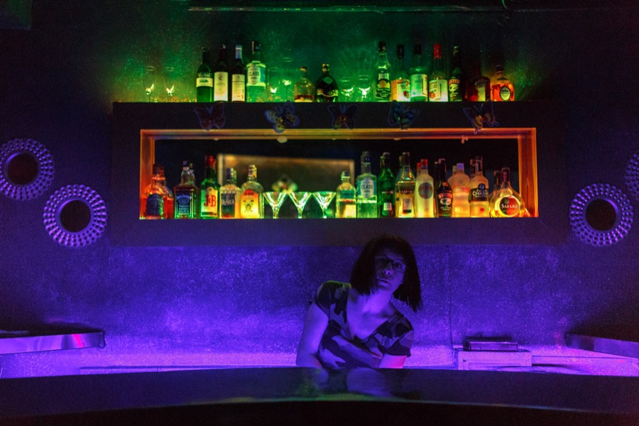 Arya Tan, the 30-year-old manager of the No Name bar in Istanbul.