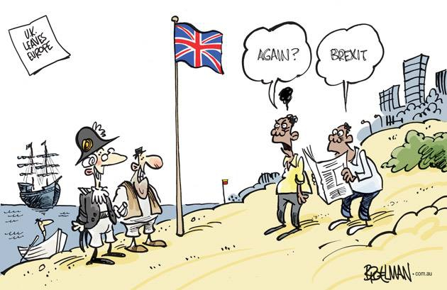 Cartoonists Draw Their Reaction To Brexit Vote Including