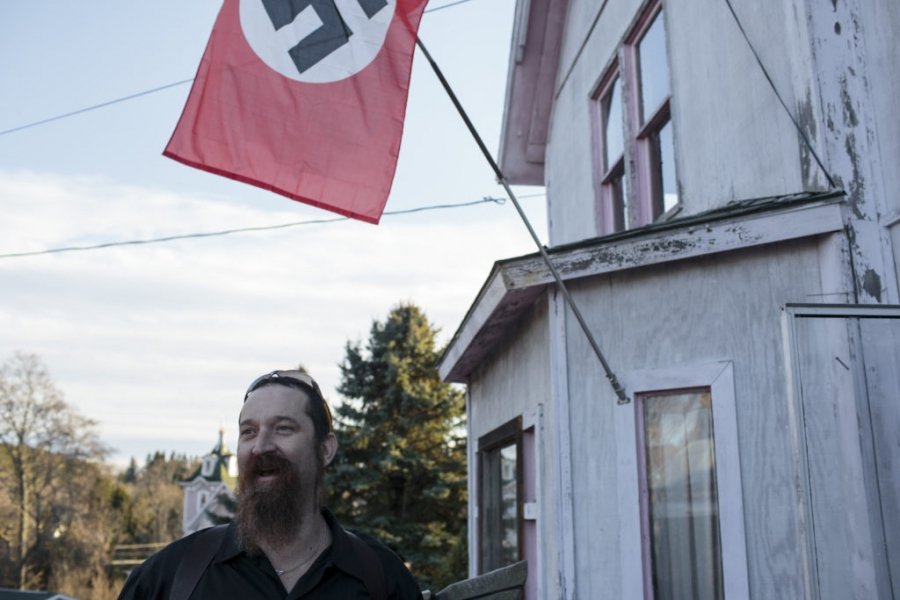 Daniel Burnside is heavily involved with the white supremacist political party the National Socialist Movement.