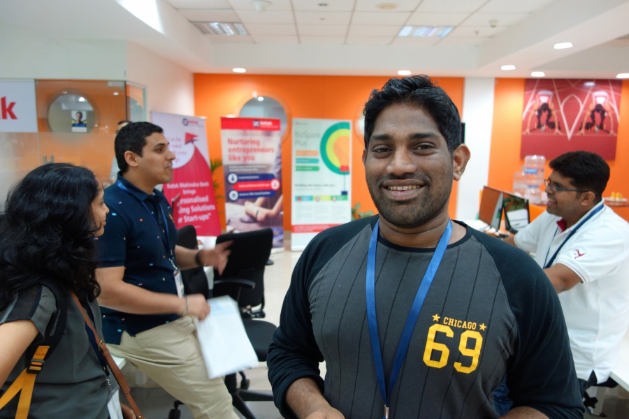 Niketh Sabbineni, startup entrepreneur, Startup Warehouse alumnus, cofounder of Bookpad, which has been acquired by Yahoo!